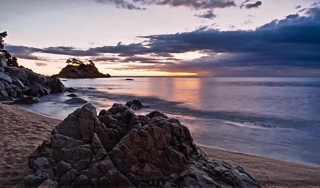 Cloudy sunrise in Costa Brava (3.1)