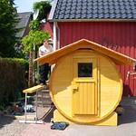 Fasssauna für Familie in Hannover