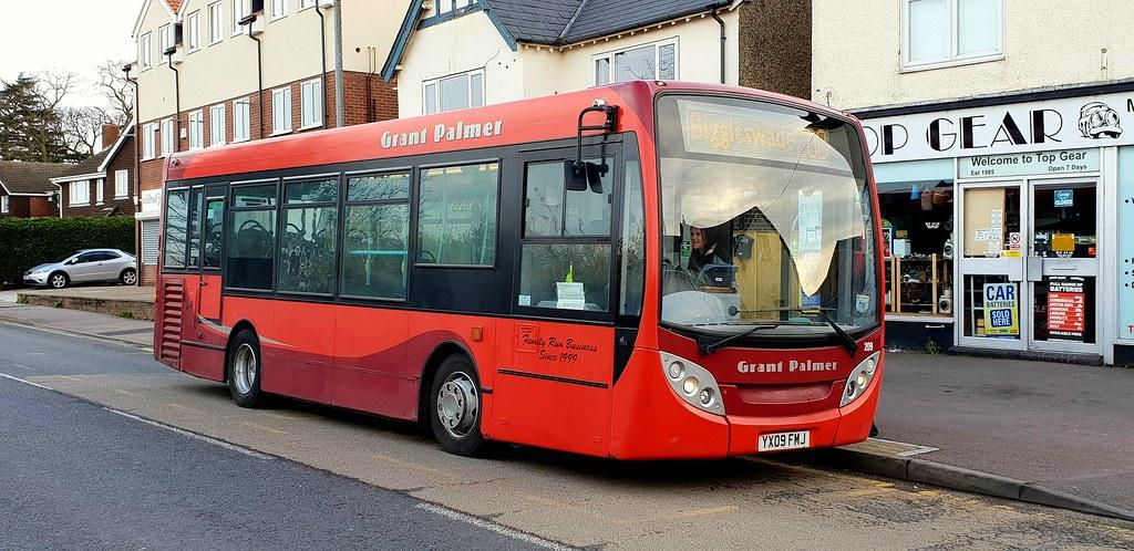 Grant Palmer ADL Enviro 200 209 YX09FMJ in Flitwick