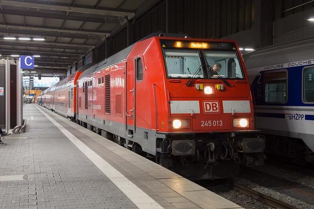 DB 245 013 Munich Hbf