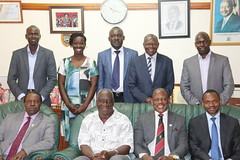 VC Makerere/RUFORUM meeting