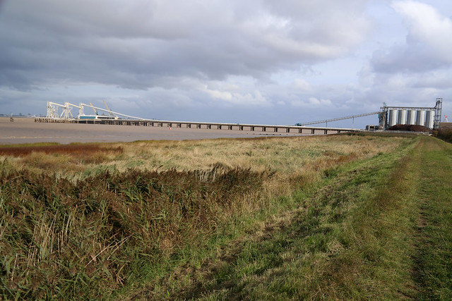 The Humber near New Holland
