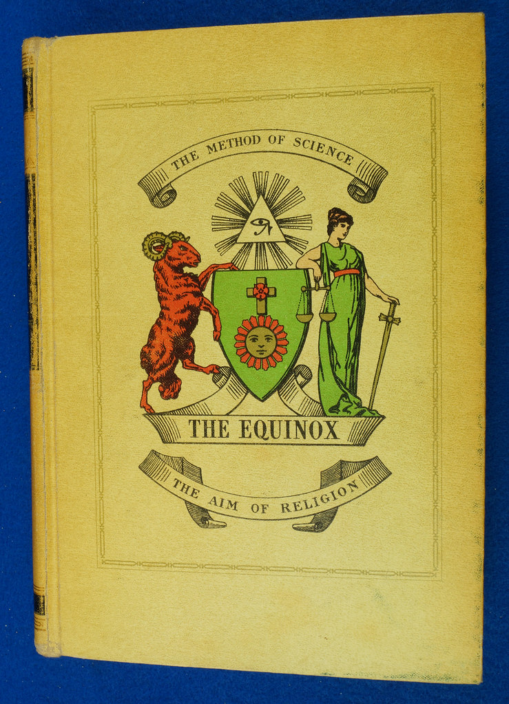 RD26573 The Equinox Review of Scientific Illuminism 1974 Vol. 1 Complete Set of 10 Books Aleister Crowley Occult Magic DSC08485