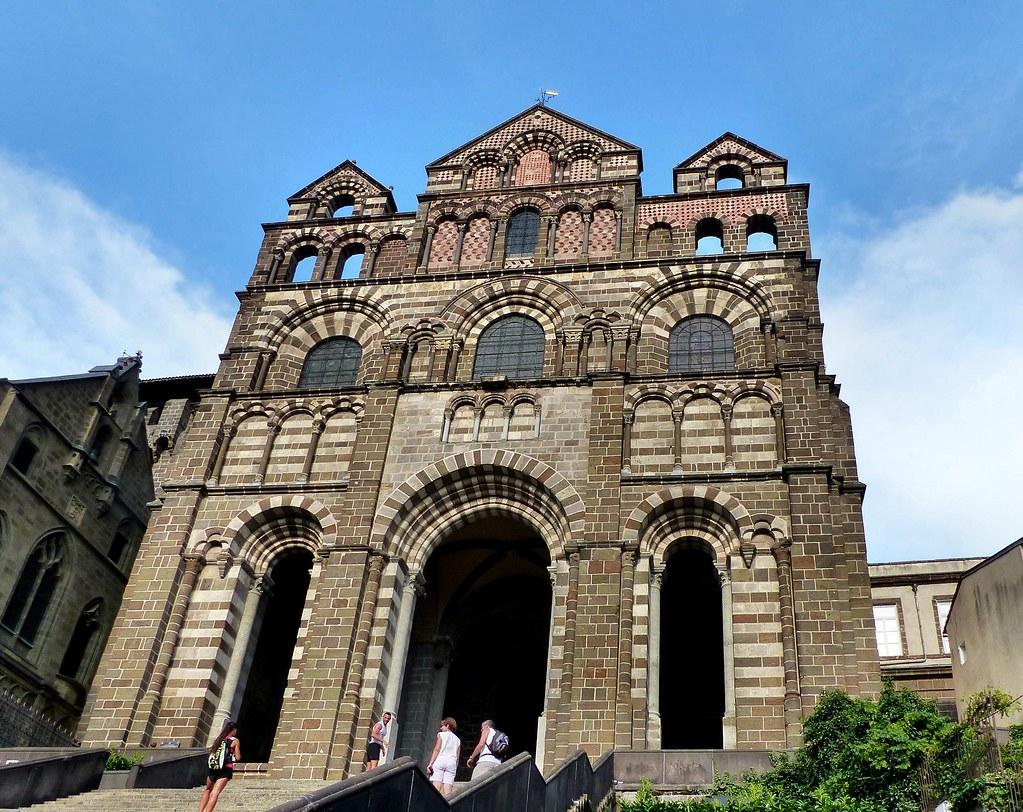 Architecte Le Puy En Velay le puy en velay - cathédrale notre-dame-de-l'annonciation