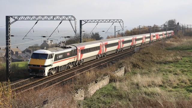 InterCity Livery Passing Berwick