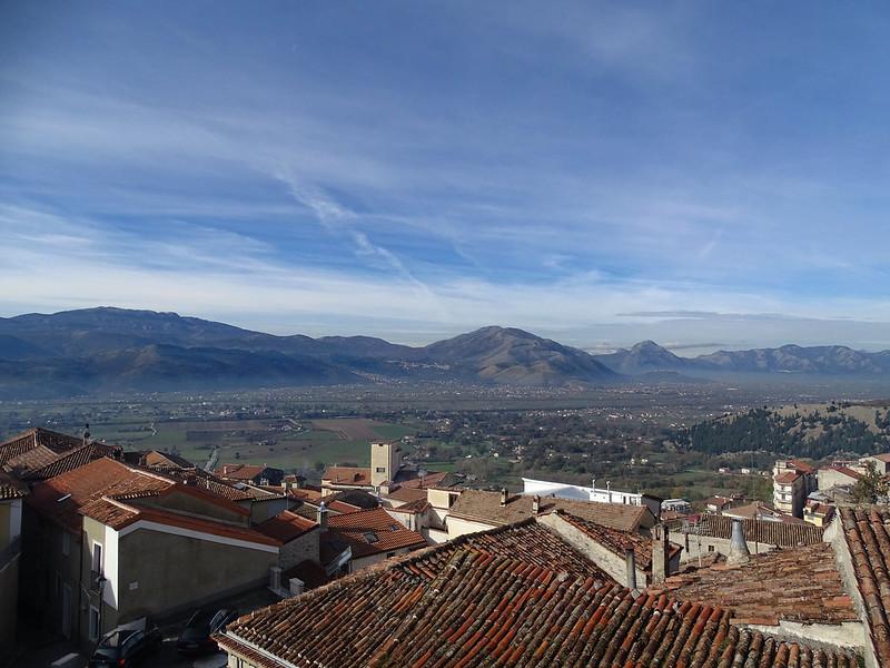Vista a sud/est dal Convento