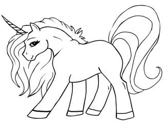46 Gambar Lol Unicorn Untuk Mewarnai Paling Populer Lingkar Png