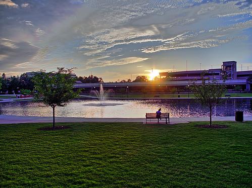 bigspringpark water sunset hdr pons