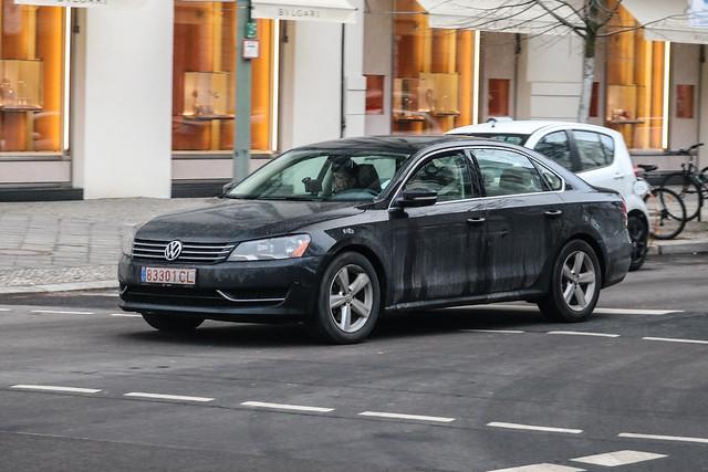 Lithuania Transit - VW Passat US