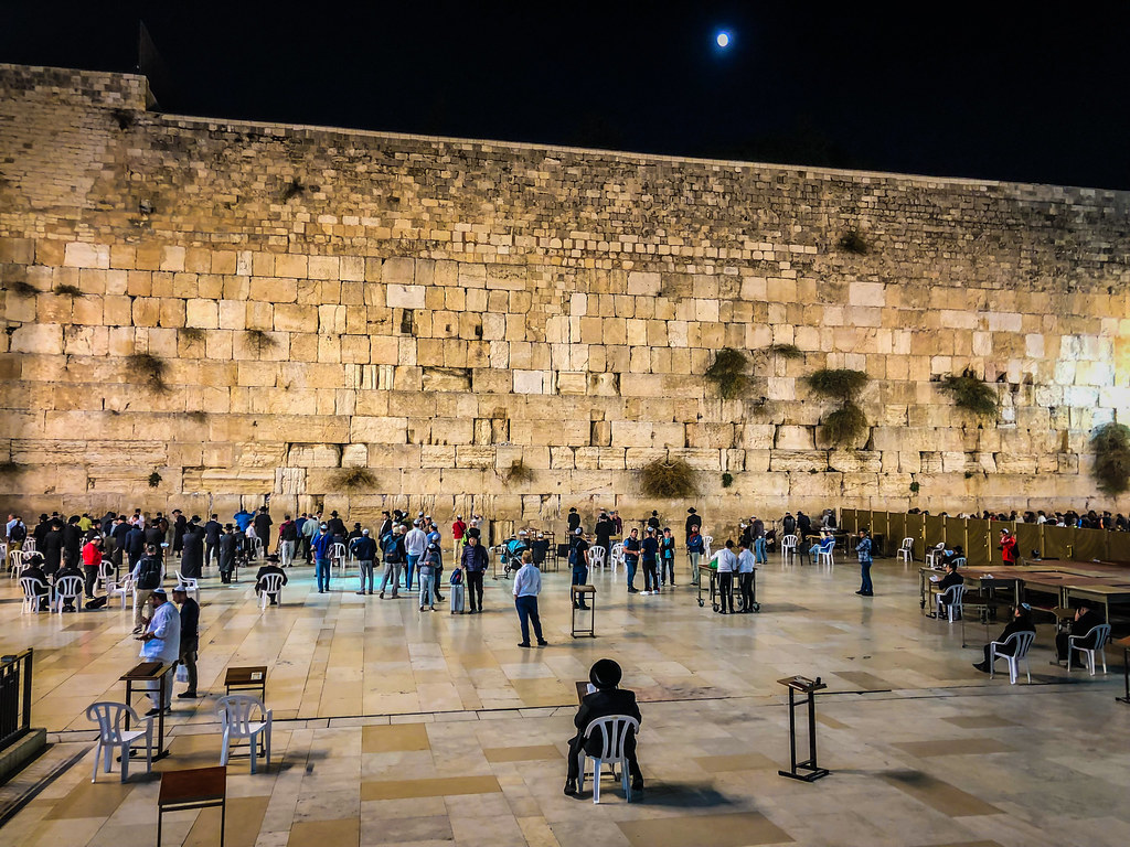 Western Wall at Night in Old City of Jerusalem Israel | Flickr