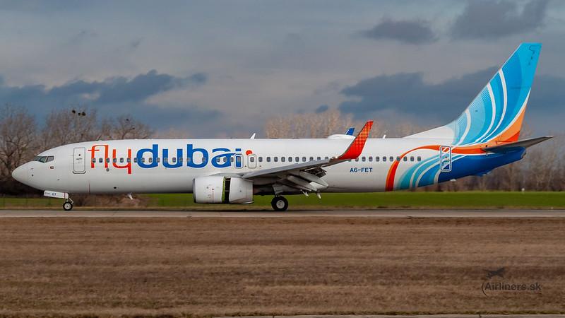 A6-FET flydubai Boeing 737-8KN(WL)