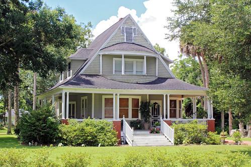 architecture house residence porch ocala florida unitedstates