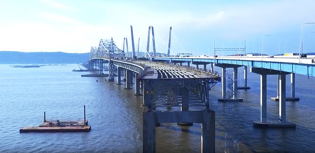 Goodbye old friend! Rusty and structurally unsound, the last remains of the old Tappan Zee Bridge will finally be imploded today, January 15th, around 10am. I've had a love/hate relationship with this bridge for decades! New York.