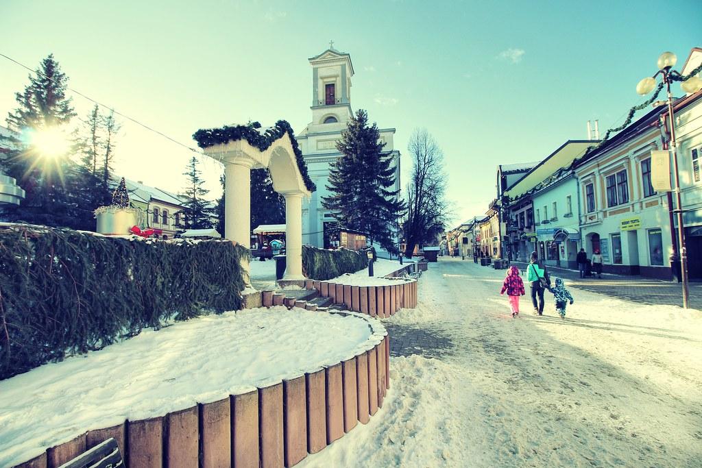 Poprad, Presov region, Slovakia   The city of Poprad is a ga