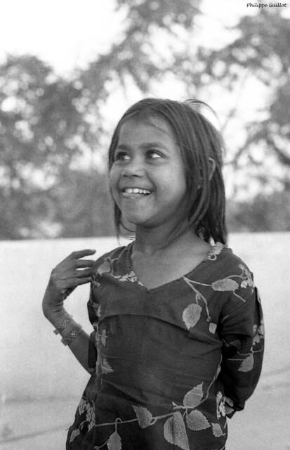 Petite fille de Jaipur