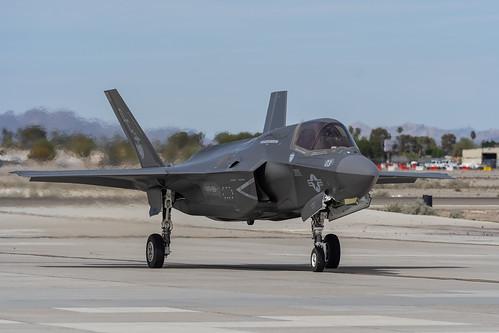 F-35B Taxiing