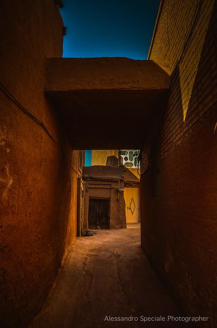 Yazd IRAN small street