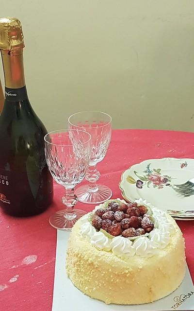 La Mimosa alle fragole