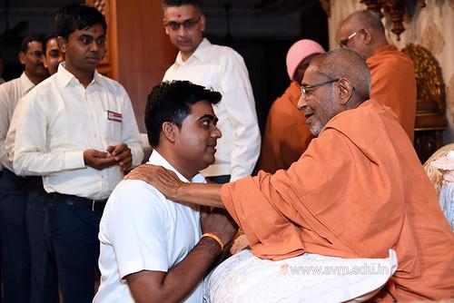 Std-10-11-12-visit-to-Haridham-for-Swamishree's-Blessings-(100) | by Atmiya Vidya Mandir