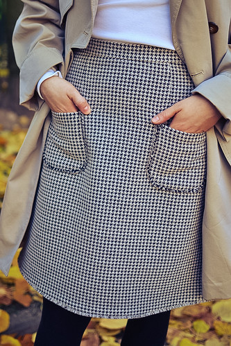 street style tweed skirt stacyco | by Stacyco