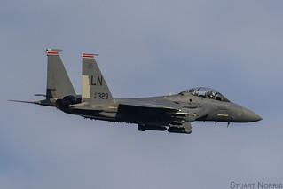 F-15E Strike Eagle 91-0329 - 494th Fighter Squadron RAF Lakenheath | by stu norris