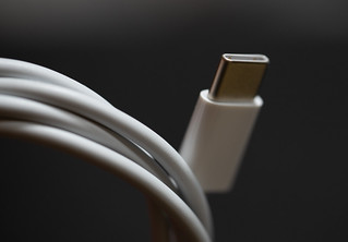 USB Type-C Thunderbolt Cable - MacBook Pro USB-C Charger | by Tony Webster