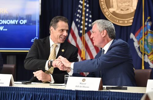 Governor Cuomo and Mayor Bill de Blasio announce that Amazon will establish a new corporate headquarters in Long Island City, Queens | by governorandrewcuomo