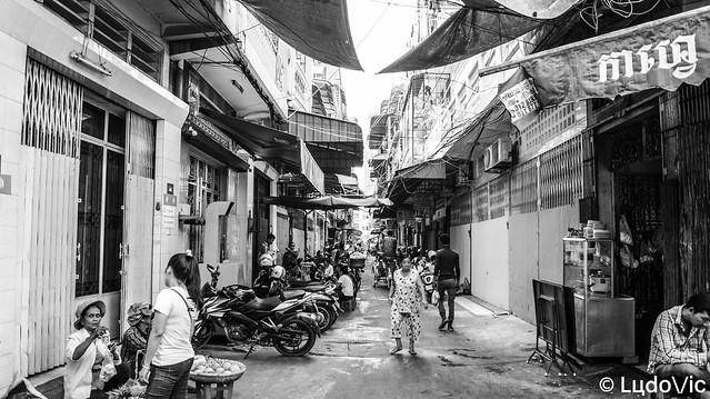 Phnom Penh in B&W 2