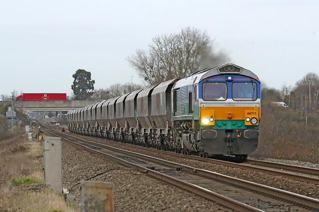 66711 Class 66 'Sence'