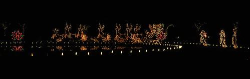 christmaslights mountainviewcemetary night christmas