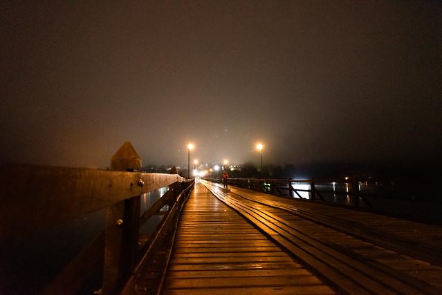 Mon Bridge during near dawn (explore)