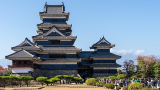 Matsumoto castle keep /5 | by FlickrDelusions