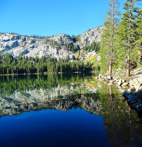 Still Water Mirror, Lake George, Sierra Nevada, CA 2016 | by inkknife_2000 (10.5 million + views)