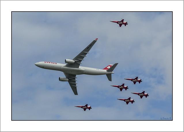 -=Air escort=- (Payerne Air 14)