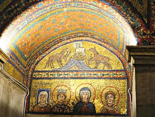 Santa Prasseden bysanttilaisia mosaiikkeja   by helipekkarinen