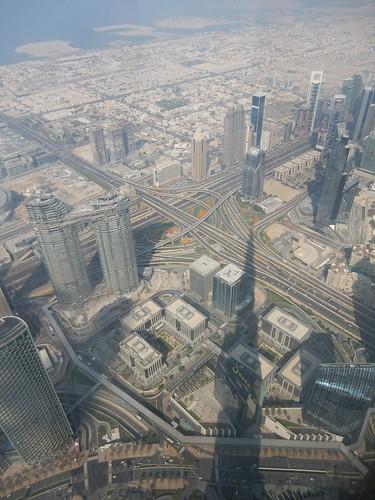 Dubai - vanaf Burj Khalif - 148th floor - 3