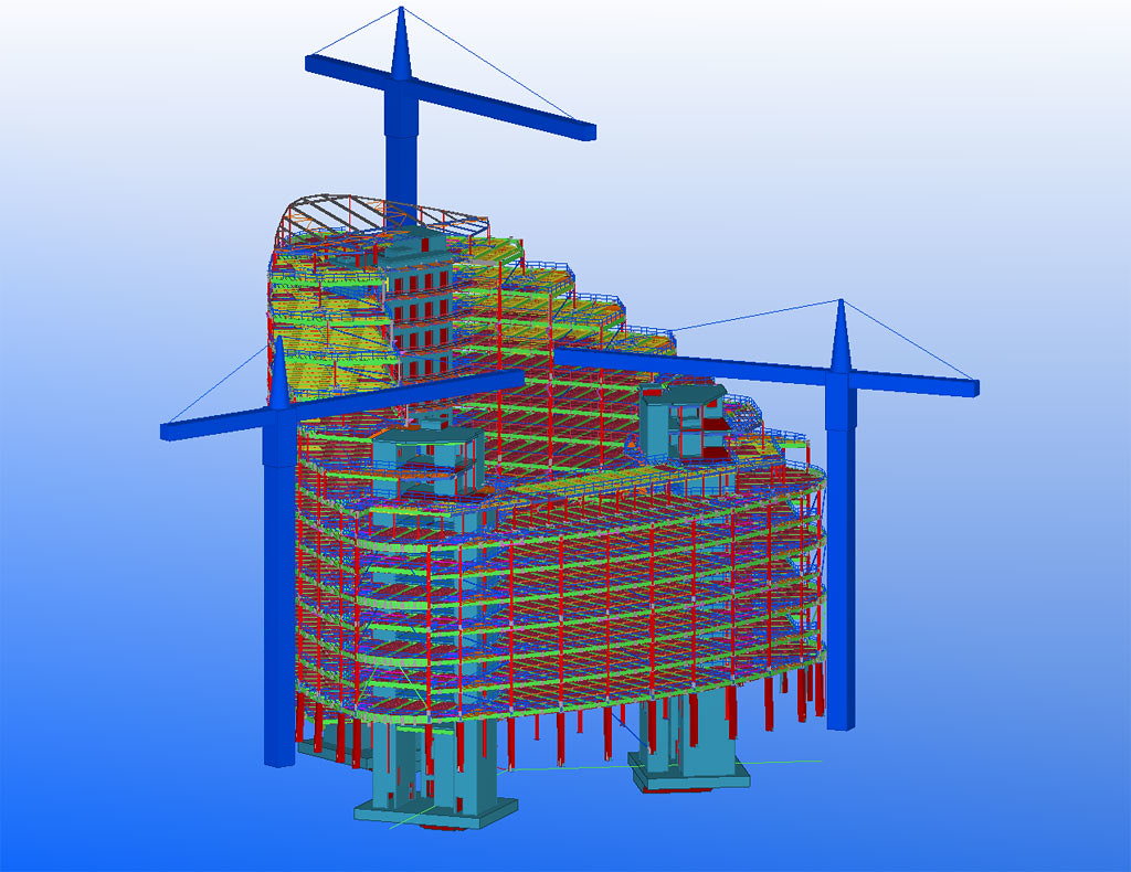 Rebar Detailing Michigan - CAD Outsourcing | #Rebar #Detaili