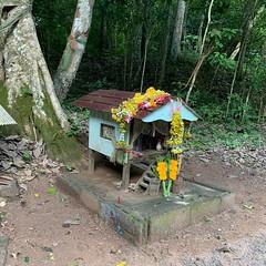 Spirit House in the Kaeng Krachan Forest
