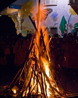 A fire to light up our  new year | by Damanhur, Federation of Communities