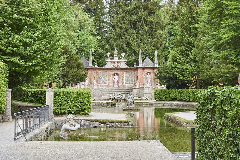 Trick Fountains at Hellbrunn Palace
