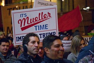 Protest Trump and Protect the Mueller Investigation Rally and March Downtown Chicago Illinois  11-8-18 5087   by www.cemillerphotography.com