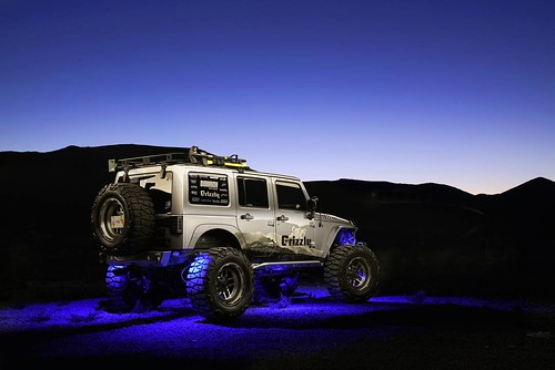 Jeep JK Rock Lights Blue (@itsjustbrian) | by ORACLE LIGHTING