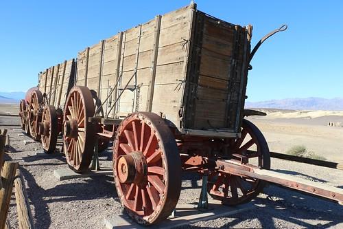 0250 Twenty Mule Team wagon at the Harmony Borax Works in Death Valley   by _JFR_