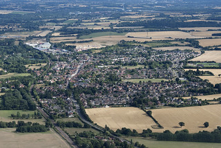 Aerial of Needham Market in Suffolk | by John D Fielding