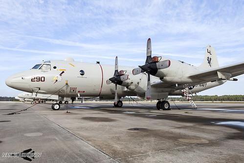 Lockheed P-3C AIP Orion 163290 LL-290 VP-30 NAS Jacksonville   by Ivan Voukadinov