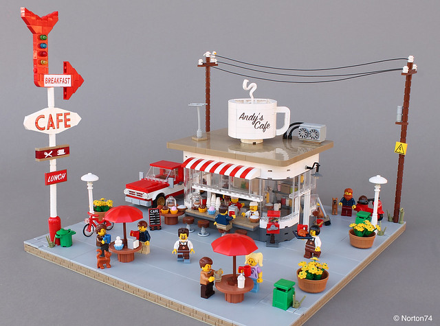 LEGO Coffee Stand Diner