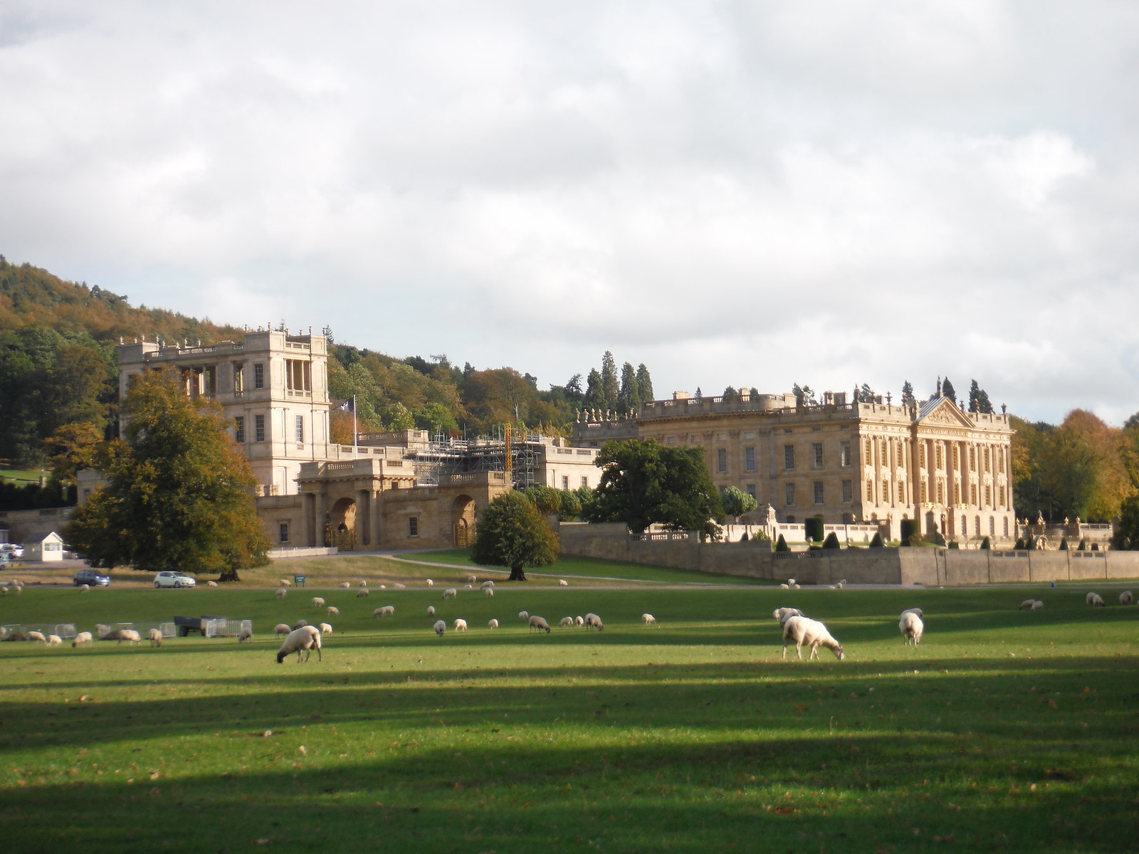 Chatsworth House SWC Walk 322 - Grindleford Circular (via Chatsworth House)