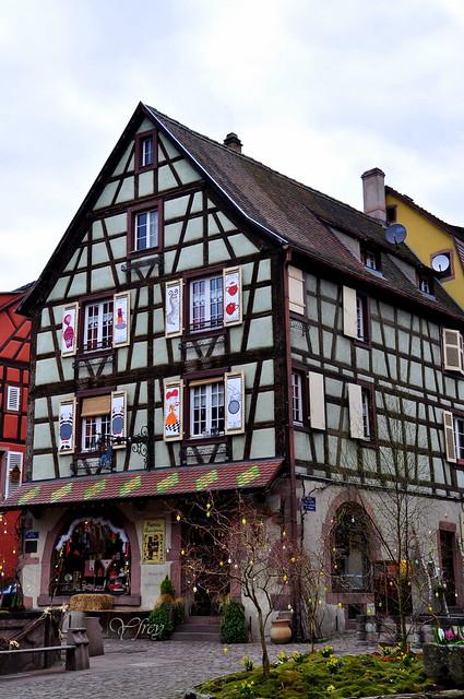 1/4 Kaysersberg Haut-Rhin Alsace