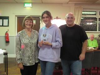 Ella Ruby – Over 11 Hurdles Award