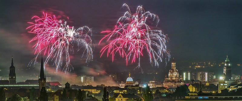 Feuerwerk Dixieland Dresden